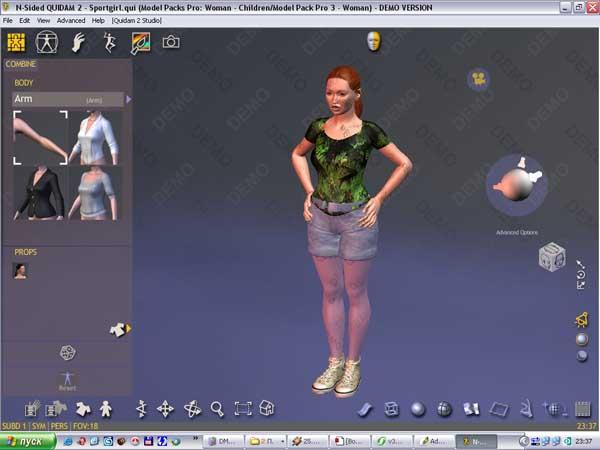 программа для создания 3d персонажей